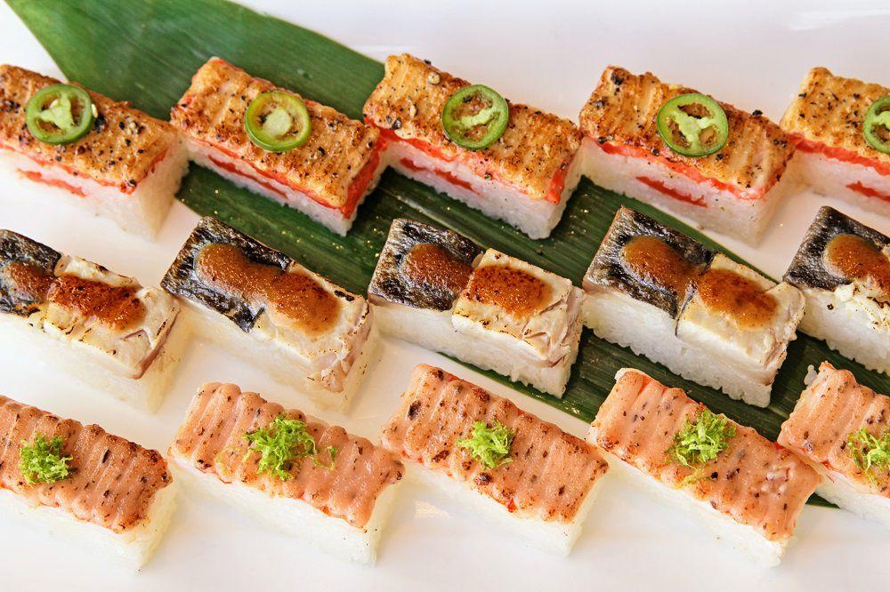 Miku specializes in flame-seared Aburi sushi.