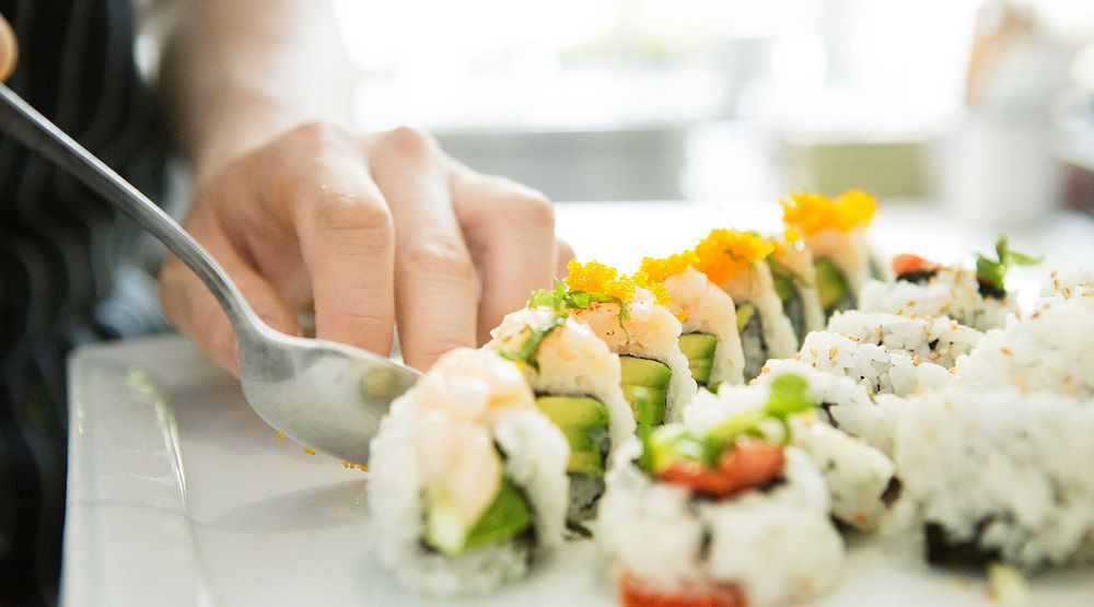 The Fairmont Pacific Rim Hotel offers great sushi at its RawBar in the Lobby Lounge.